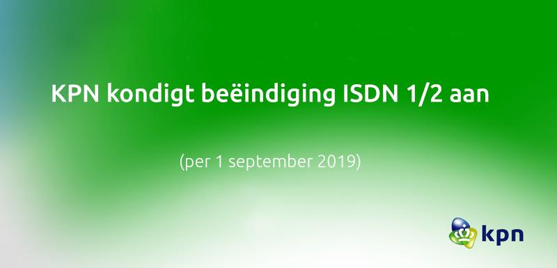 KPN stopt na 25 jaar met ISDN, waar moet je rekening mee houden?